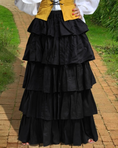 Frilly Medieval Skirt 1