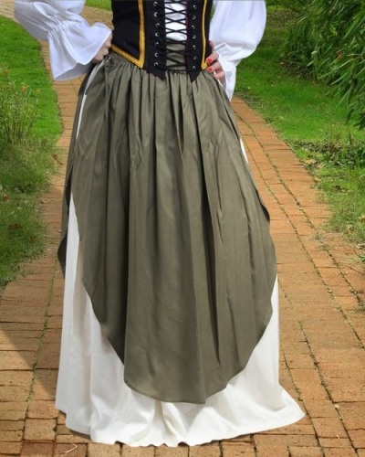 Skirt with Apron 1