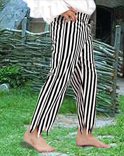 Captain Clegg Striped Pants 1
