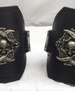 Latigo Pirate Wrist Cuffs or Wide Bracelets