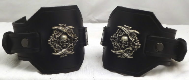 Latigo Pirate Wrist Cuffs or Wide Bracelets 1