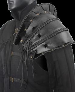 Orc's Leather Pauldron