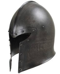 Epic Dark Barbuta Helmet