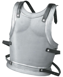 Backplate for King or Templar- Size Small