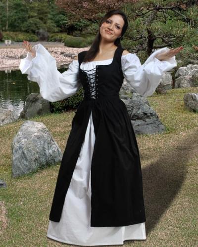 81199759c78 Ameline Peasant Dress – Ye Old Renaissance Shop