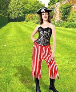 Rachel Wall Striped Pants