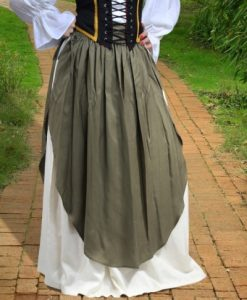 Skirt with Apron