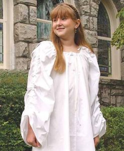 Celtic Chemise For Children  sc 1 st  Ye Old Renaissance Shop & Girls Costumes u2013 Ye Old Renaissance Shop